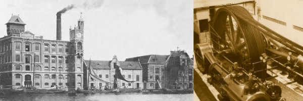 An archive picture of the Hollandia Complex where Nebu has its offices today