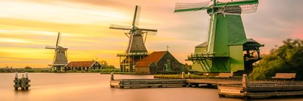 Windmills in Zaanse Schans