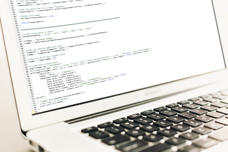 A piece of R code created in Nebu Data Hub