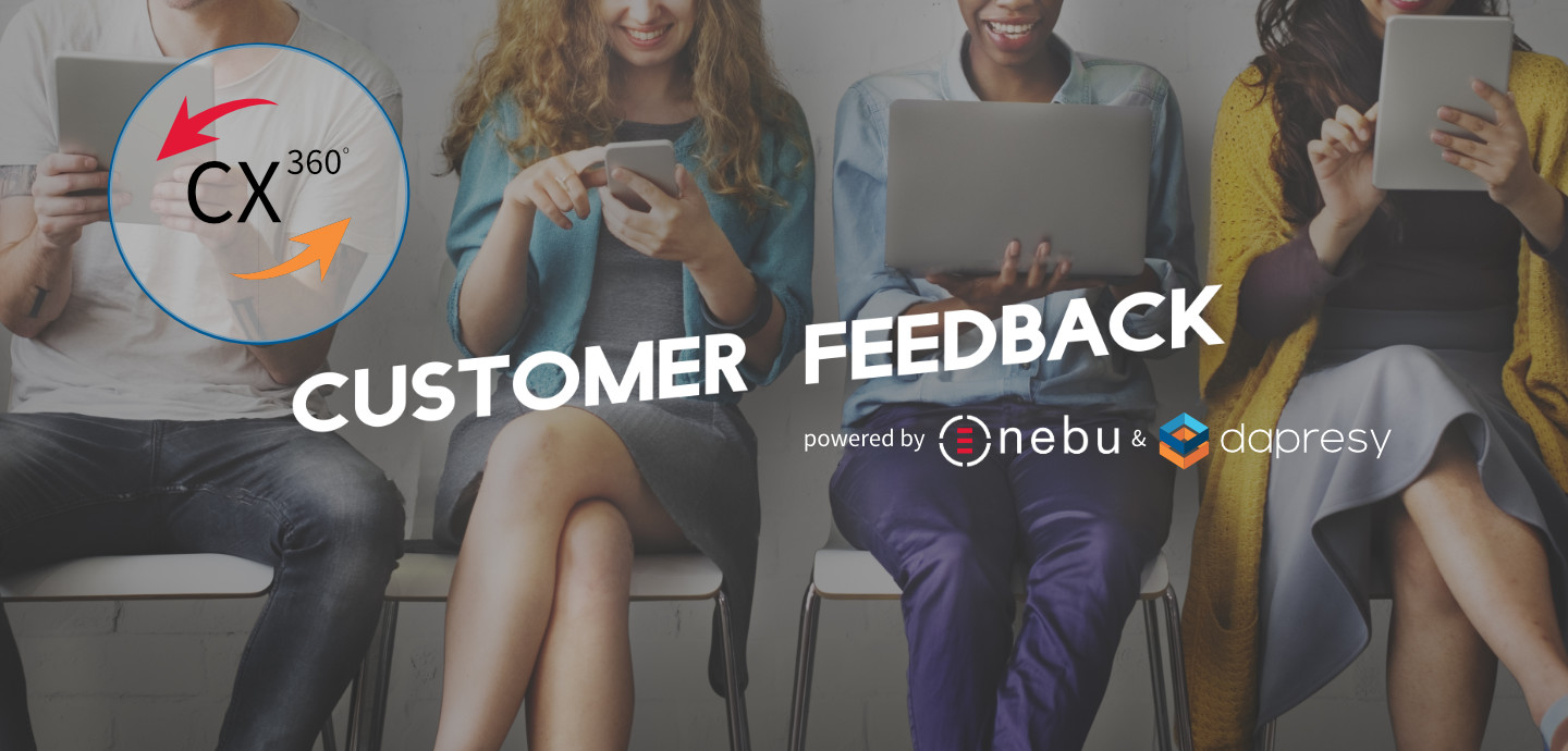 Continuous customer feedback measurements with Nebu and Dapresy