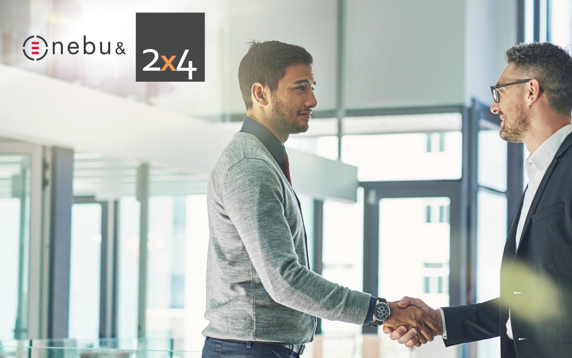 Nebu & 2x4 Form Strategic Partnership