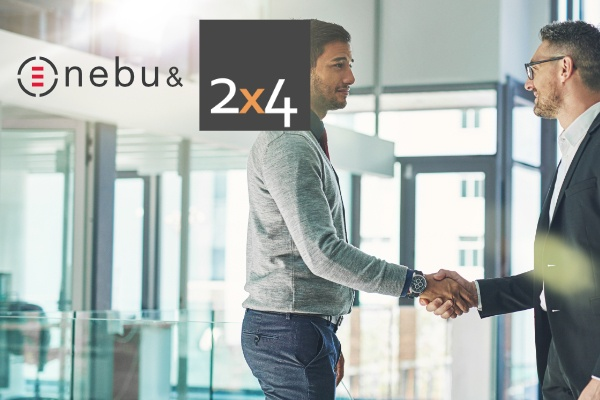 Read about a new strategic partnership between Nebu and 2x4