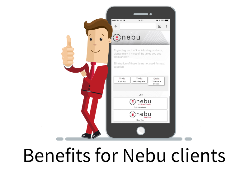 Click to discover how you will benefit as a Nebu Dub InterViewer user