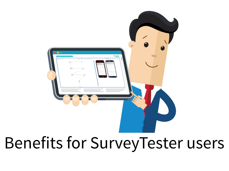 Click to learn how you will benefit as a SurveyTester user