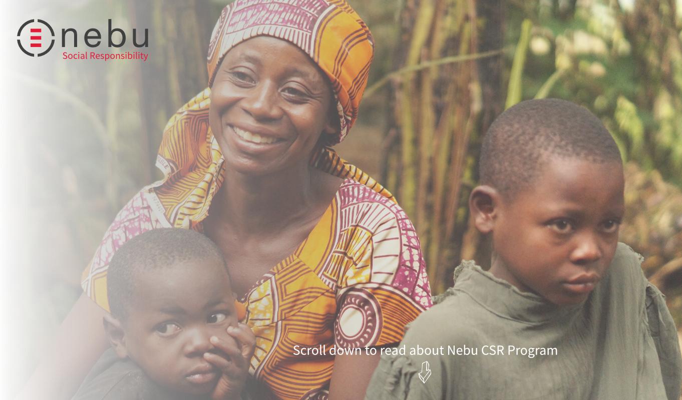 Read About Nebu Social Responsibility Program
