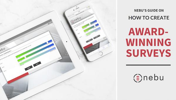 How to create award-winning surveys