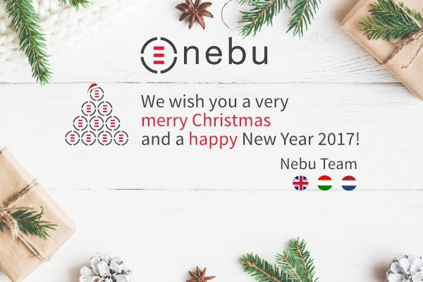 Season's greetings from Nebu