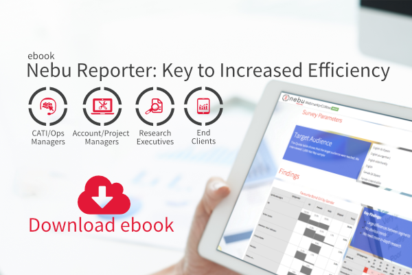 Download an ebook about benefits Nebu Reporter brings