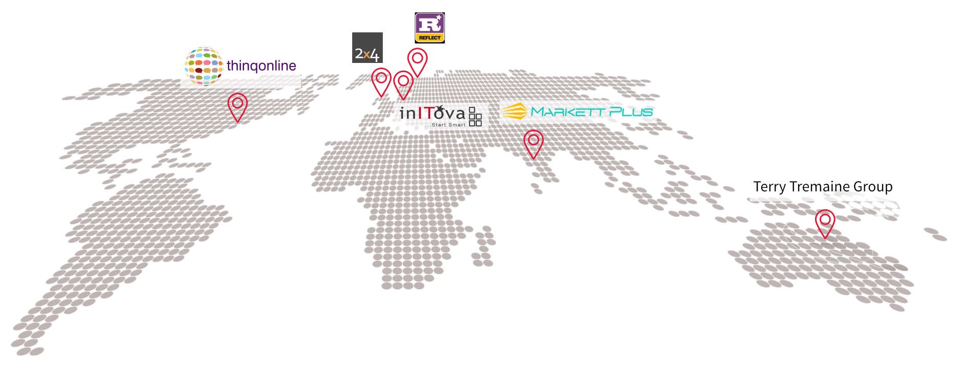 Nebu Resellers Map