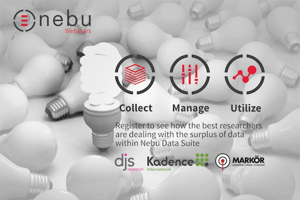 Learn how Nebu tools help you to integrate and automate the entire market research