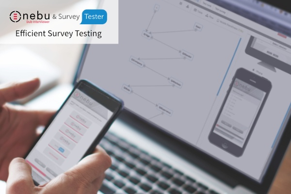 Efficient survey testing