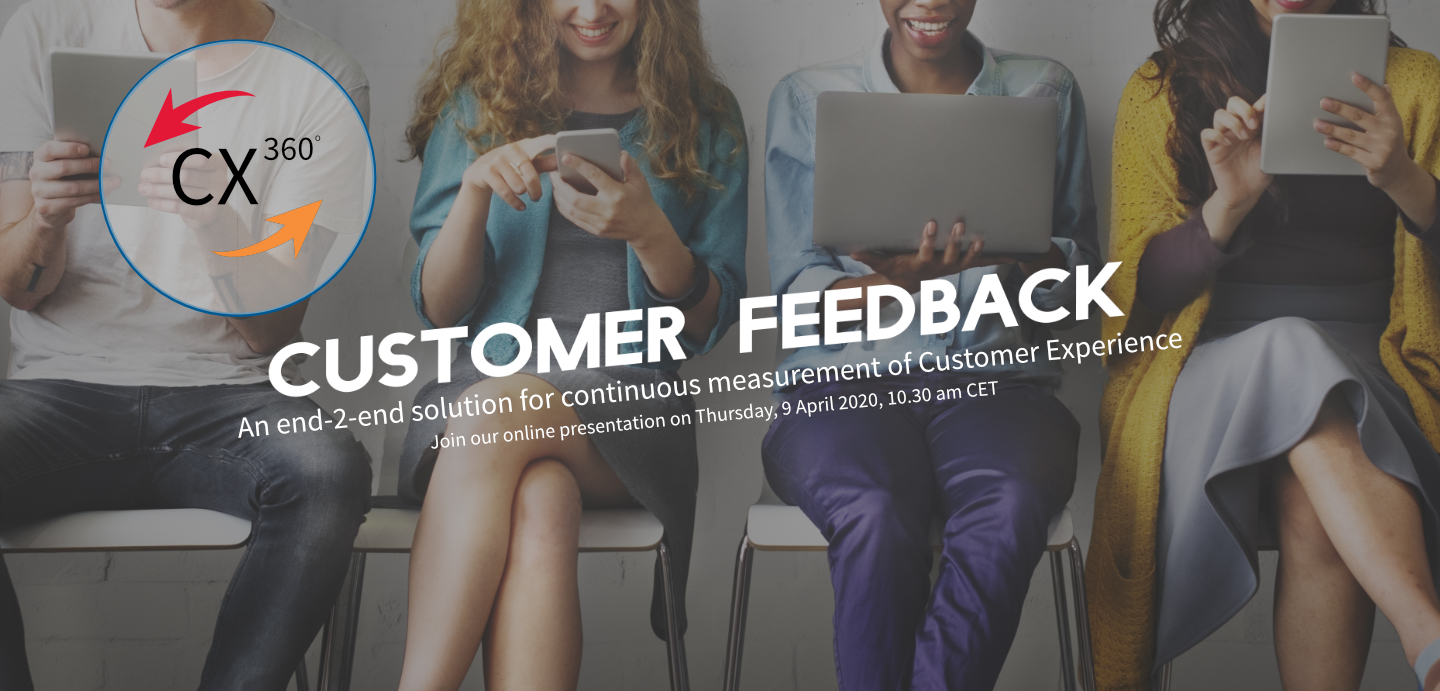Join the webinar to see what our CX360 solution has to offer you!