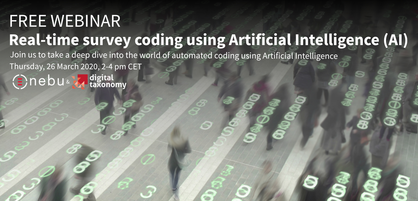Join the webinar to deep dive into the world of automated coding using Artificial Intelligence