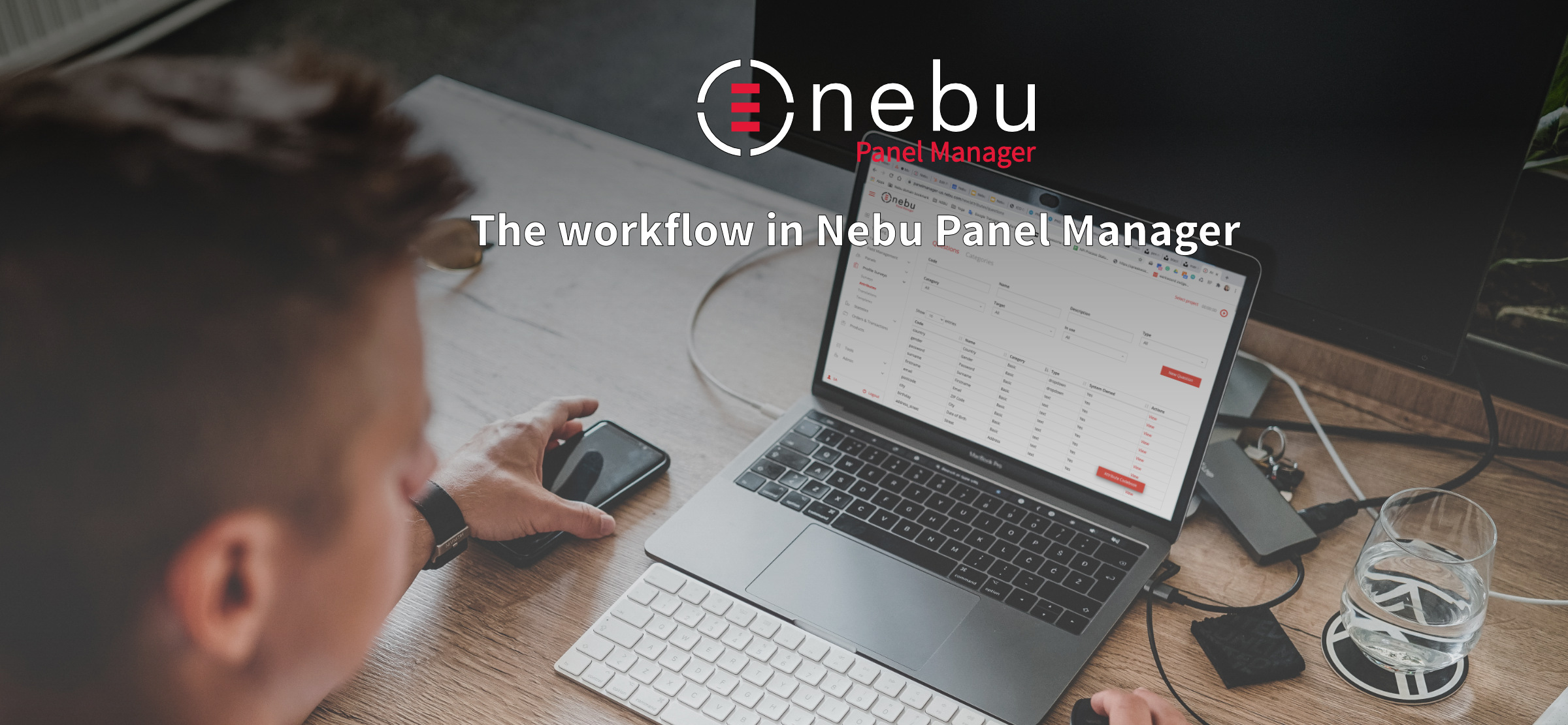 Learn more about the workflow in Nebu Panel Manager